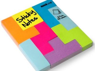 Block Notes - Tetris Shaped Sticky Notes
