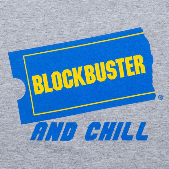 Blockbuster and Chill Ladies Fitted Tee