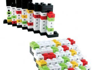 Blocks Puzzle Calendar