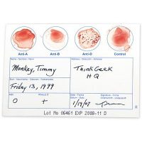 Blood Typing Test Kit