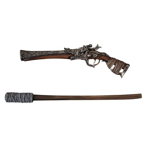 Bloodborne Hunters Arsenal Pistol and Torch 1 6 Scale Replica