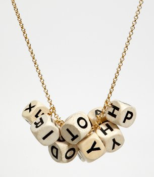 Board Game Champion Necklace