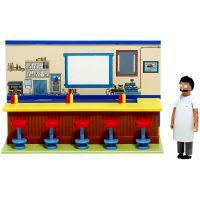 Bob Burgers Diner Diorama Playset