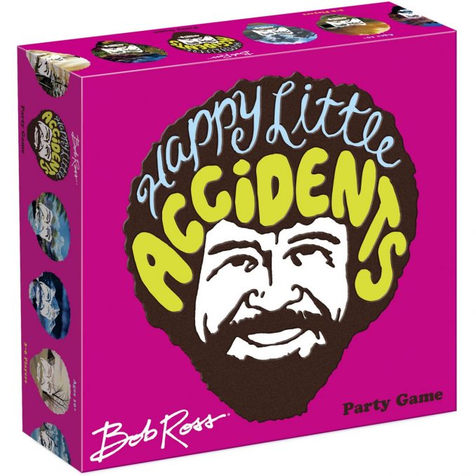 Bob Ross Happy Little Accidents Game