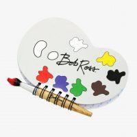 Bob Ross Journal and Paint Brush Pen Set