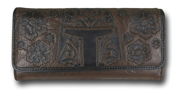 Boba Fett Faux Leather Envelope Women's Wallet