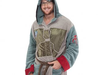 Boba Fett Fleece Robe