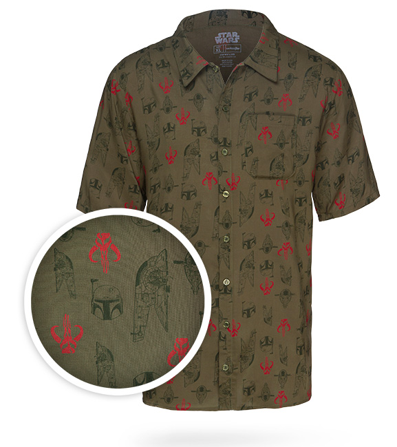 Boba Fett Hawaiian Shirt