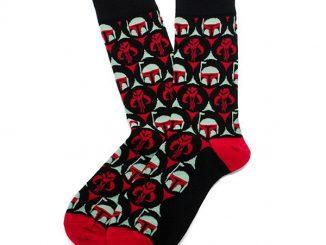 Boba Fett Jacquard Dress Socks