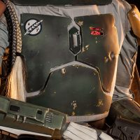 Boba Fett Life-Size Figure Chest Detail