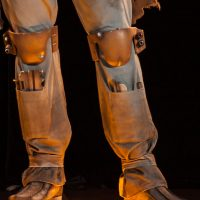 Boba Fett Life-Size Figure Legs