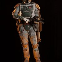 Boba Fett Life-Size Figure with Light-Up Base
