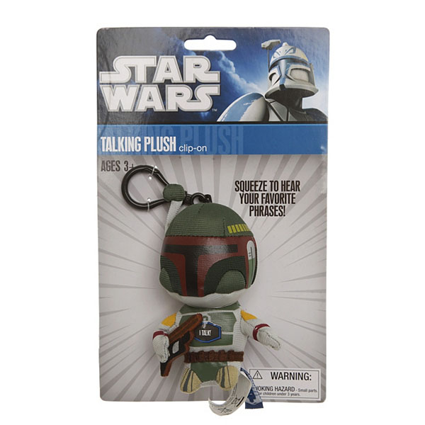 Boba Fett Talking Plush