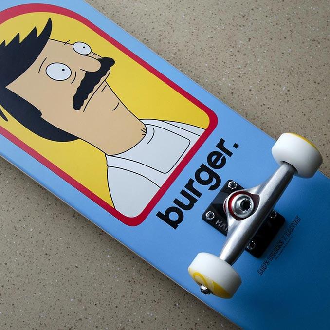 Bob's Burgers Burger Complete Skateboard
