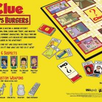 Bob's Burgers Clue Box Back