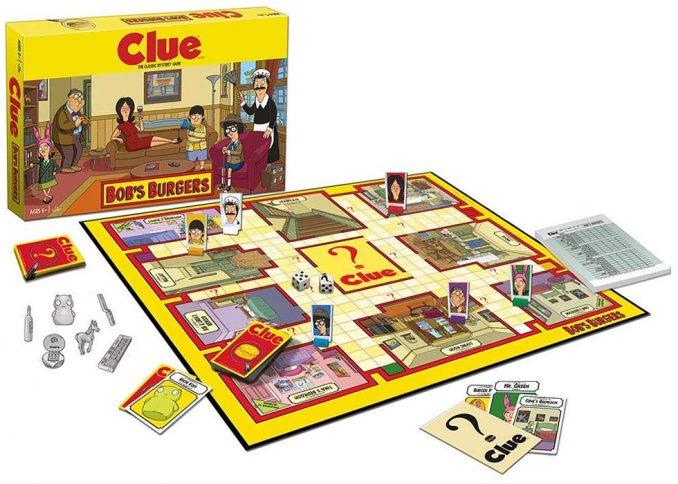 Bob's Burgers Clue Game