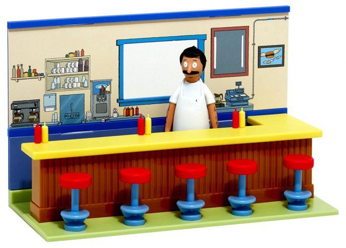 Bobs Burgers Diner Diorama Playset