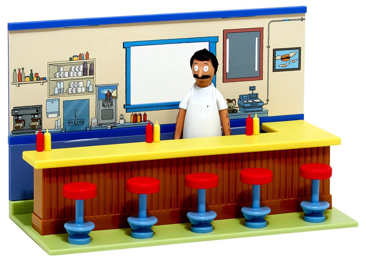 Bob S Burgers Diner Diorama Playset