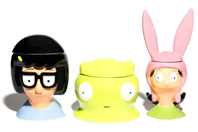 Bob's Burgers Kitchen Jar Set