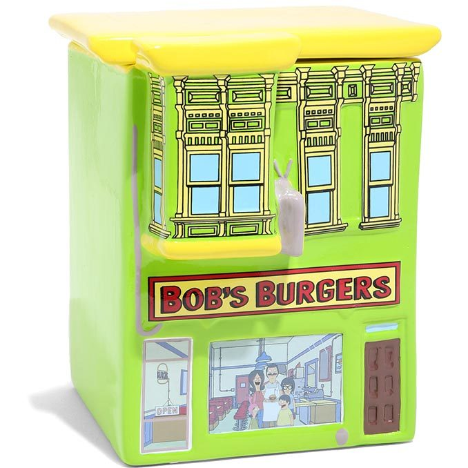 Bob's Burgers Restaurant Cookie Jar