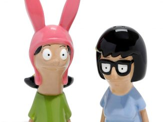 Bob's Burgers Salt & Pepper Shakers