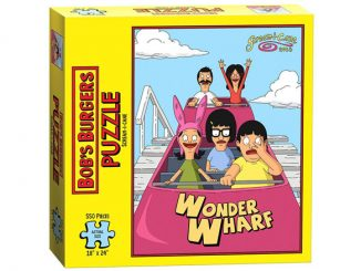 Bob's Burgers Scream-I-Cane Family Puzzle