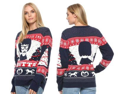 Bob's Burgers Tina Butts Xmas Sweater