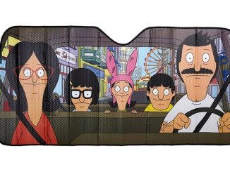 Bob's Burgers Windshield Sunshade