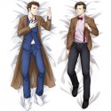 Body Pillowcase with Tenth and Eleventh Doctor