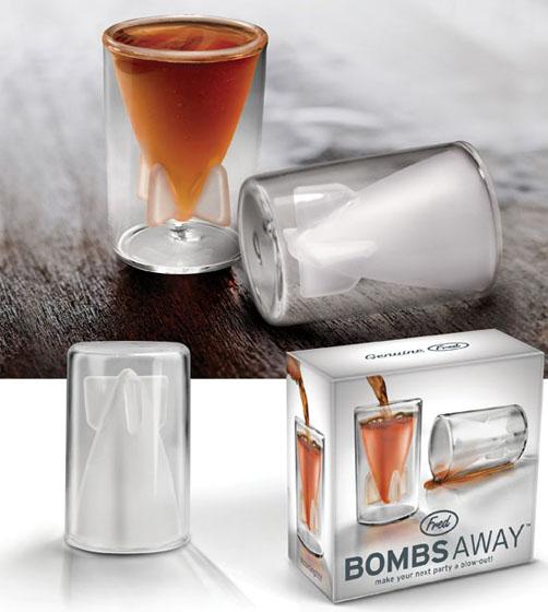 Bombs Away Shot Glass
