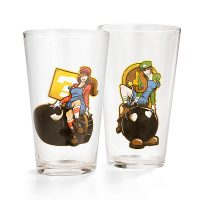 Bombshell Gaming Pint Glass 4-Pack