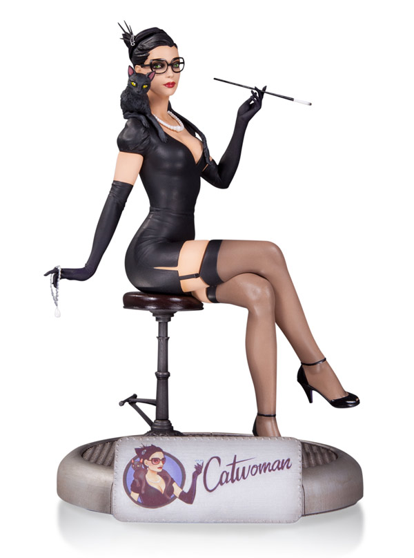 Bombshells Catwoman Statue