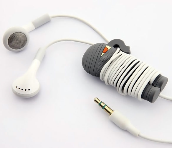 Bone Collection Mummy Wrap Headphone Cord Organizer