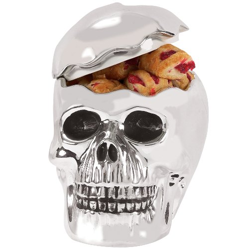 Bone Collector Footed Cookie Jar