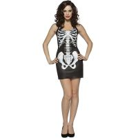 Bones Tank Dress Adult Costume