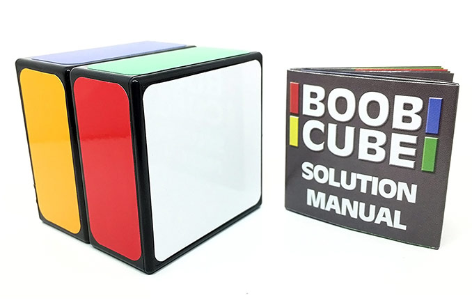 Boob Cube Logic Puzzle For Dummies