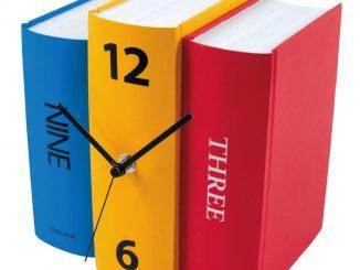 Book Set Desk Clock