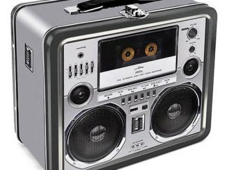 Boom Box Tin Lunch Box