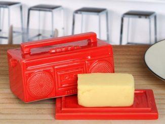 Boomin Boombox Butter Dish