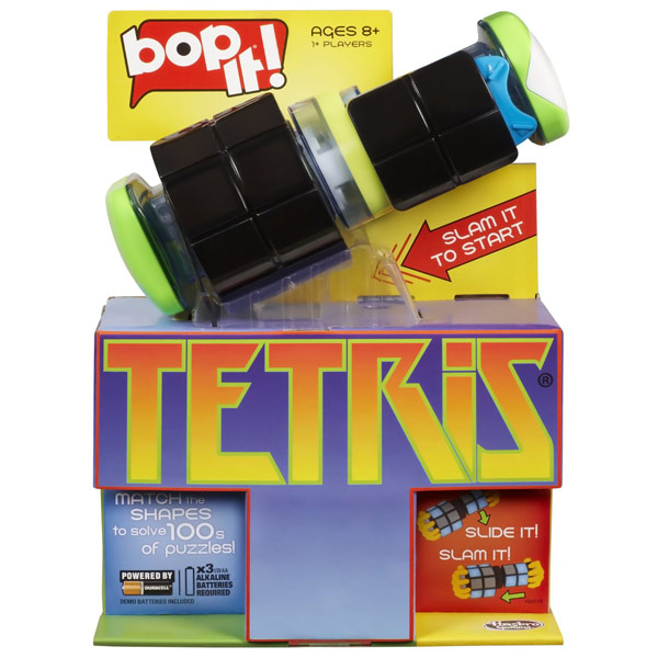 Bop It Tetris Game