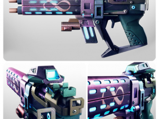 Borderlands 2 Infinity Gun Full Scale Prop Replica