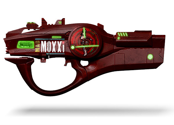 Borderlands 2 Miss Moxxi's Bad Touch Prop Replica