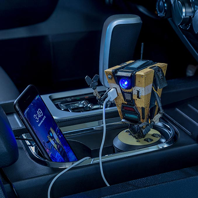 Borderlands Claptrap USB Car Charger