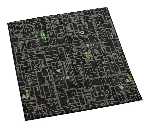 Borg Cube Rug