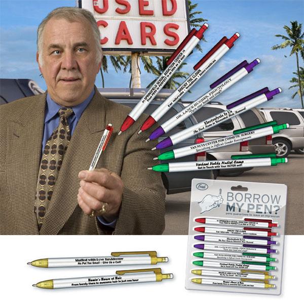 Borrow My Pen Fun Pen Set Fred and Friends