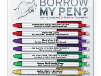 Borrow My Pen Fun Pen Set