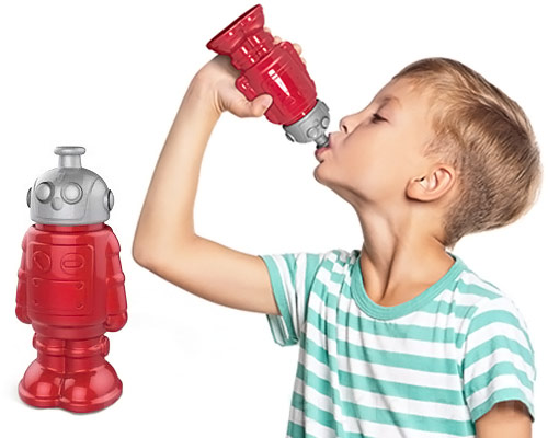 Robot Sports Water Bottle