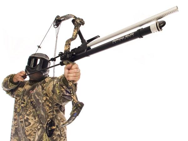 Bow Mount Paintball Airow Gun