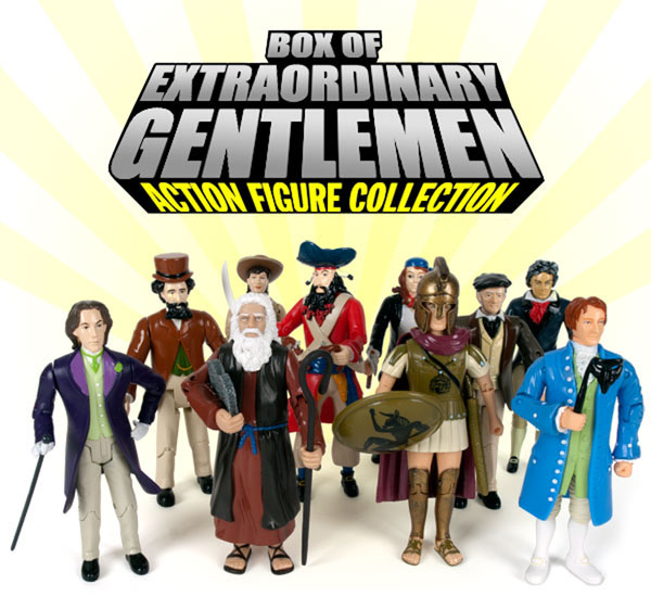 Box of Extraordinary Gentlemen Action Figures