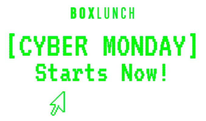 BoxLunch Cyber Monday 2018 Sale
